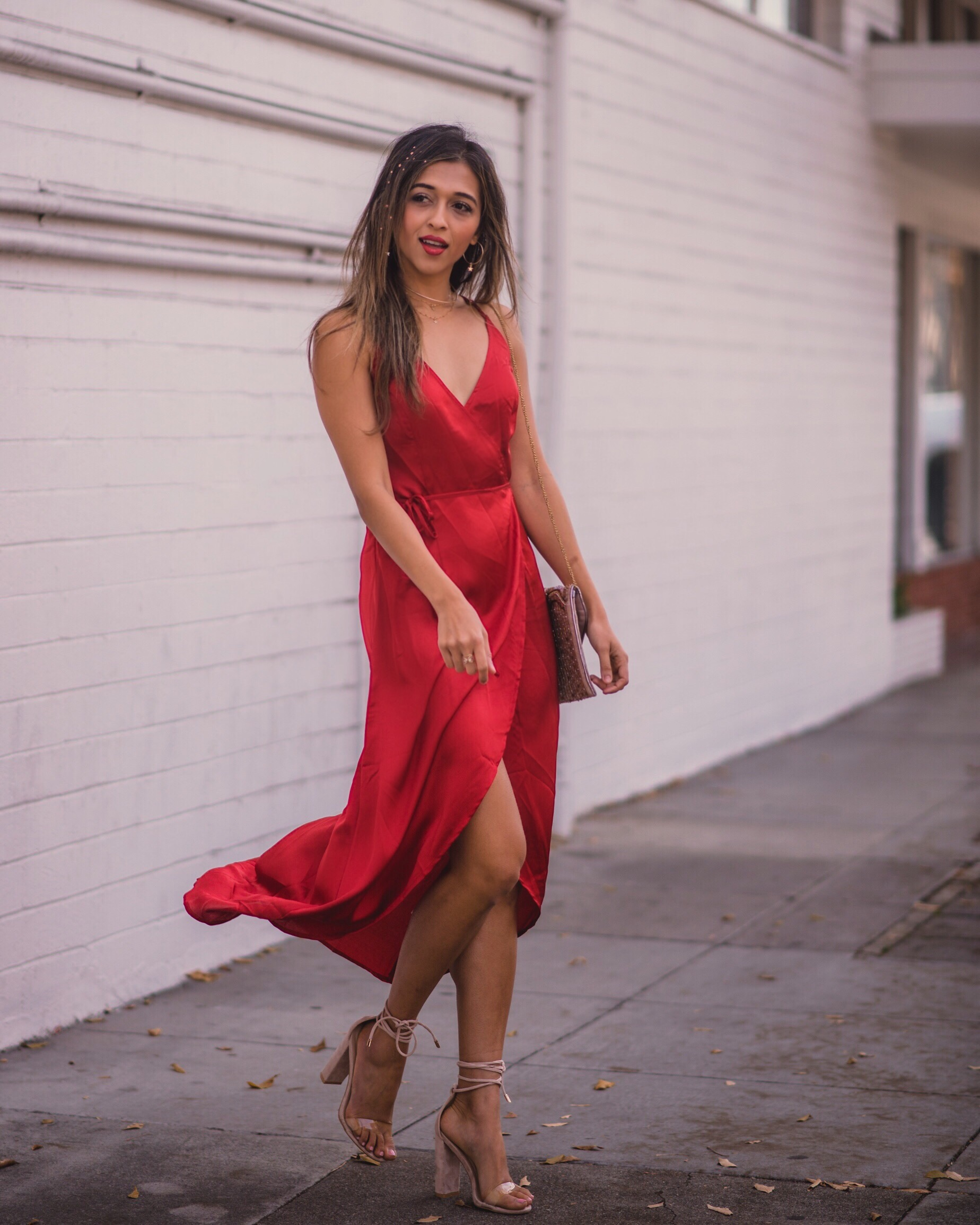 Classic Red Dresses