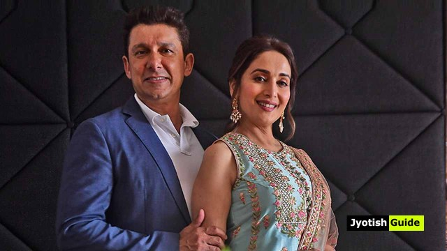 madhuri dixit with husband
