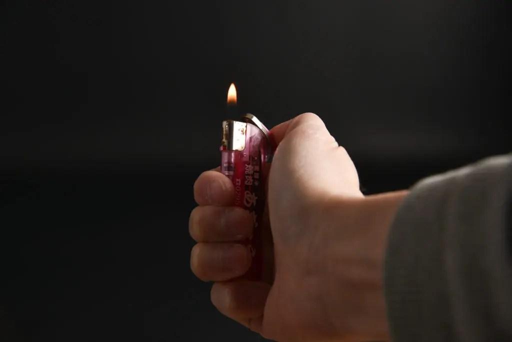 火をつけてみよう!
