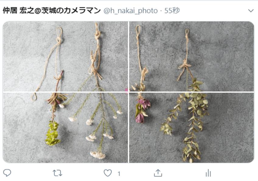 TwitterやInstagramで写真を分割して1枚の写真に見せる投稿を見た事がありますか?