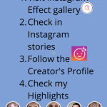 Get the Filter by Visiting the Creator Profile in Instagram (1)