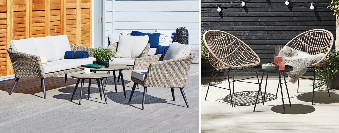 outdoor trends 2021 lounge sets for