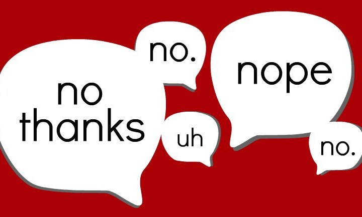 Image result for saying no