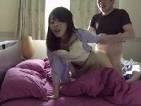父の部下に無理矢理犯され続けて理性を失っていく可愛い若妻のセックス動画