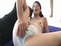 七海ひさ代が甥と生セックスしているjukujyo動画