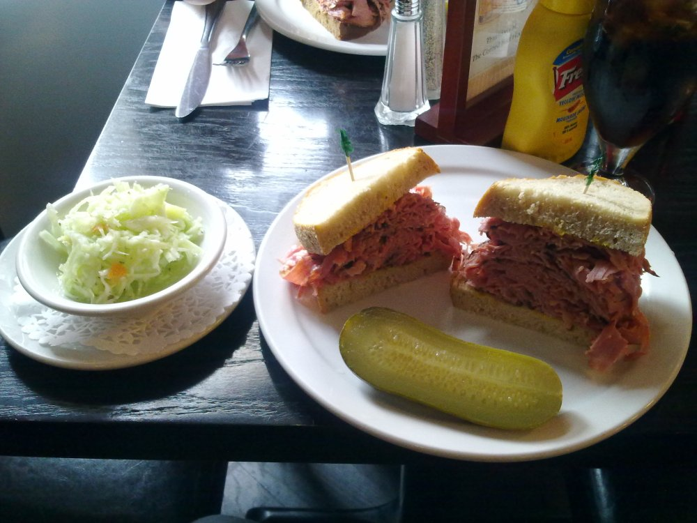 Man vs. Sandwich at The Corned Beef House (3/4)