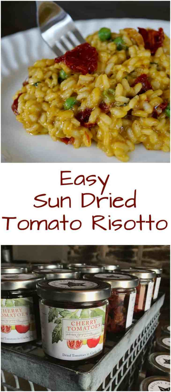 sun dried tomato risotto