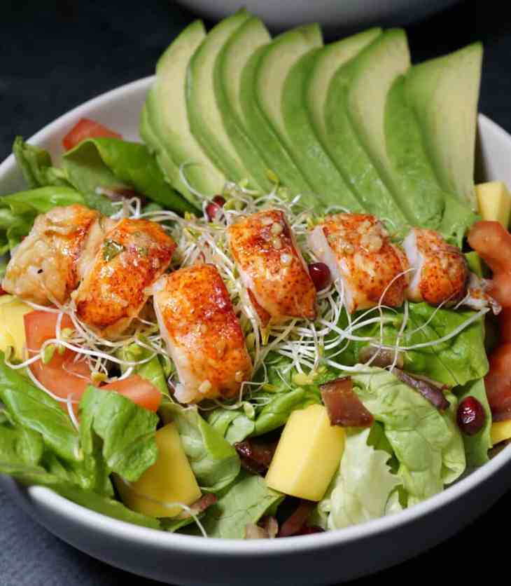 Whole30 Recipes Lobster Avocado Salad