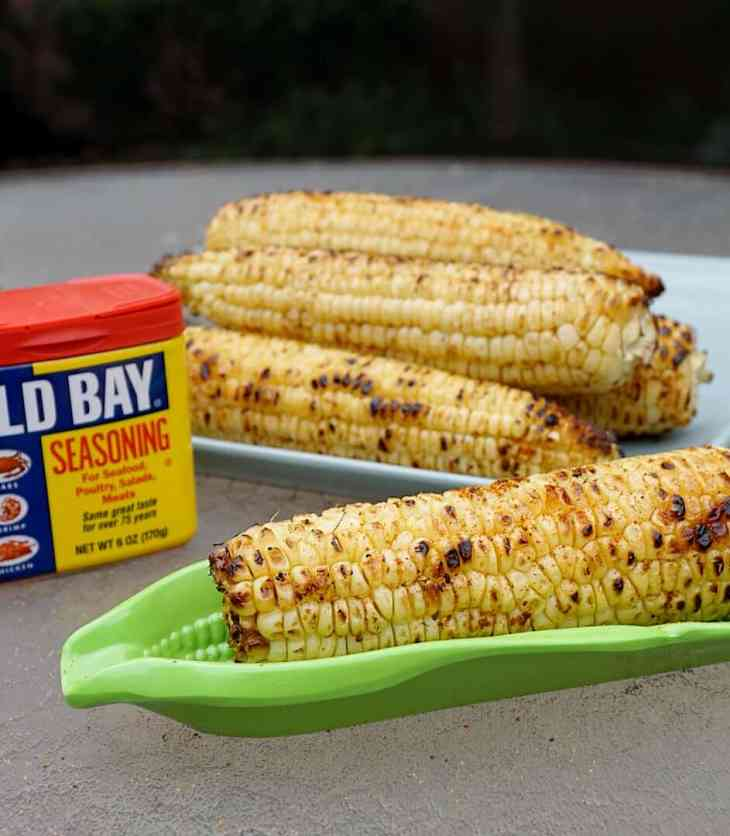 OLD BAY Corn is the perfect companion to anything made on the grill. Three ingredients, 15 minutes, and a WHOLE lot of flavor! It's so easy, even the most inexperienced grillers can make it!