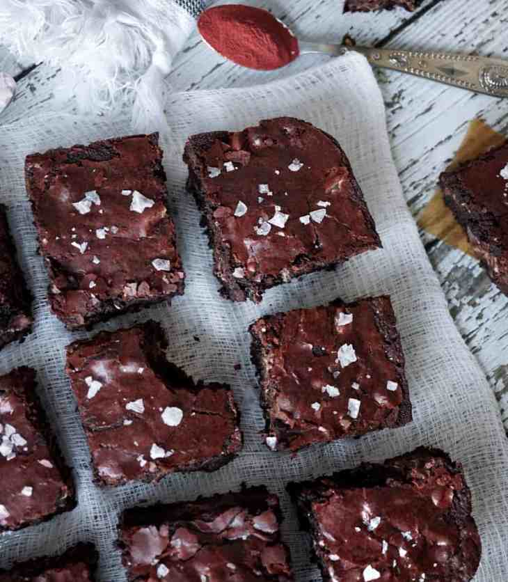 These homemade brownies are the only boyfriend you'll need this Valentine's Day. Prepared in one bowl and ready to eat in 35 minutes. These brownies are crisp, chewy, and chocolatey - they're almost impossible to stop eating.