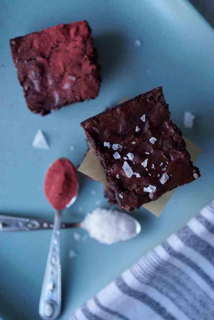 Heart Beet Valentine's Day Homemade Brownie Recipe 2