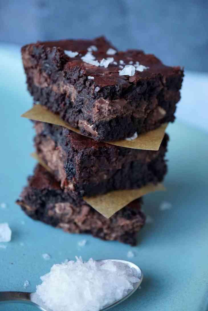 Heart Beet Valentine's Day Homemade Brownie Recipe