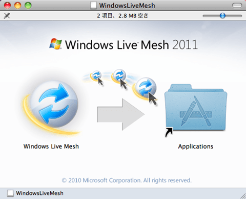 Live Mesh for Mac