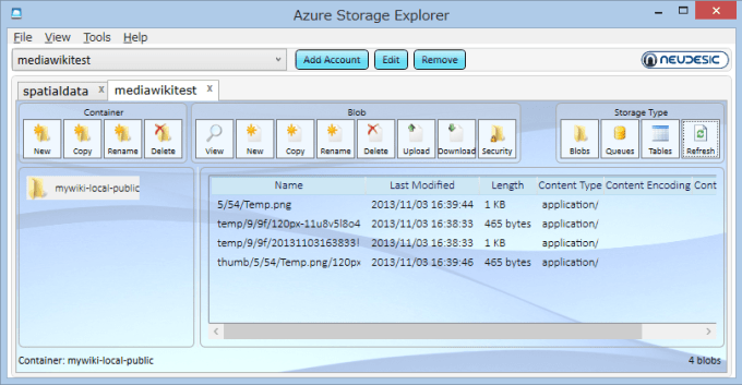azure-storage-explorer