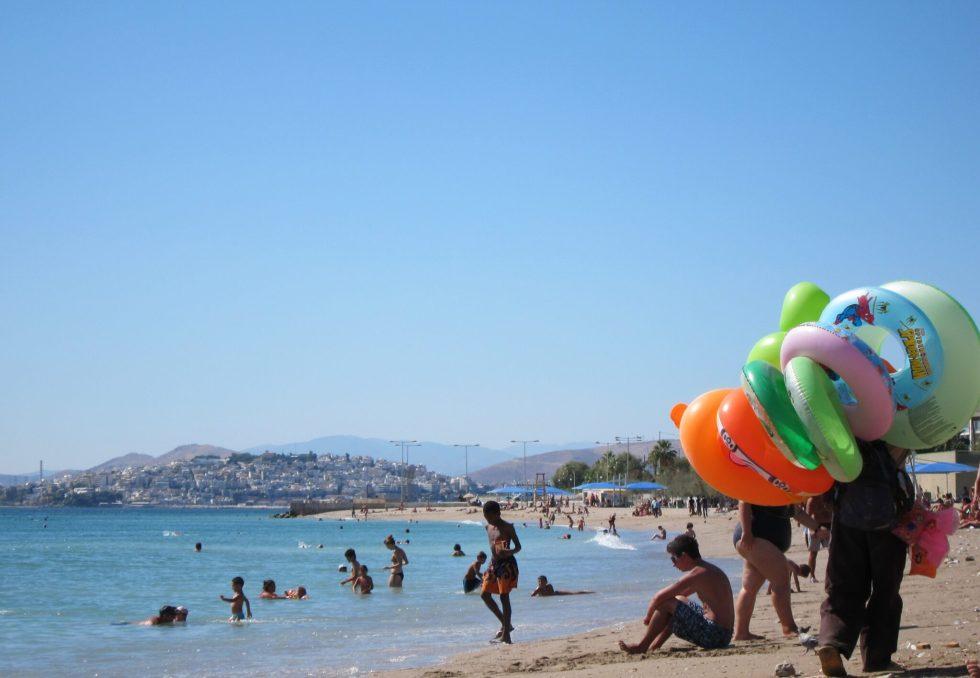 Athens floatie seller