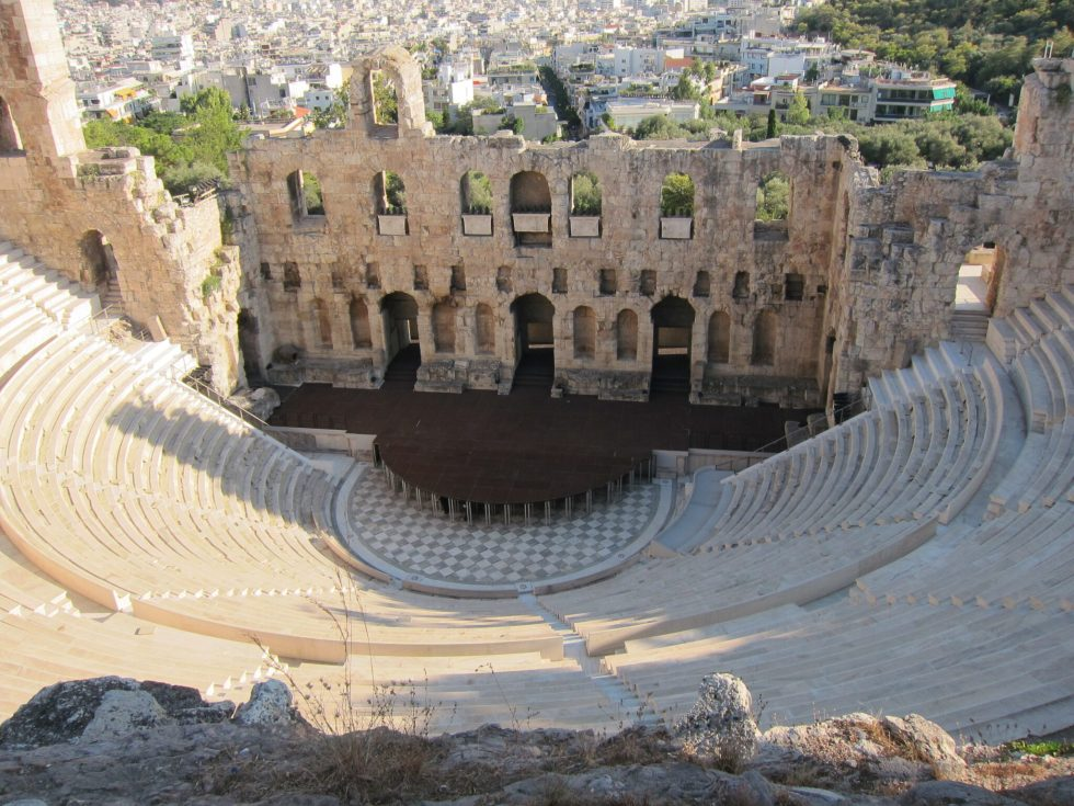 Athens stage