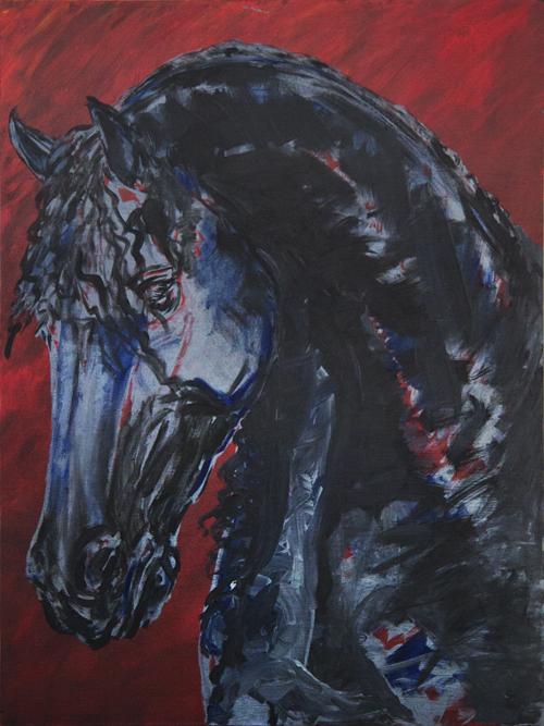 Horse head dark