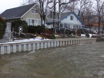 Shoreguard vinyl Seawalls Michigan by JZ Contracting
