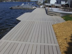 Lake Front Boardwalk and Seawalls Construction