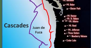 Cascadia: une chaîne