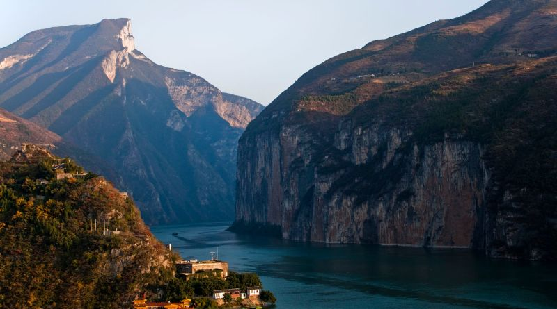Le fleuve Yangzi Jiang en Chine