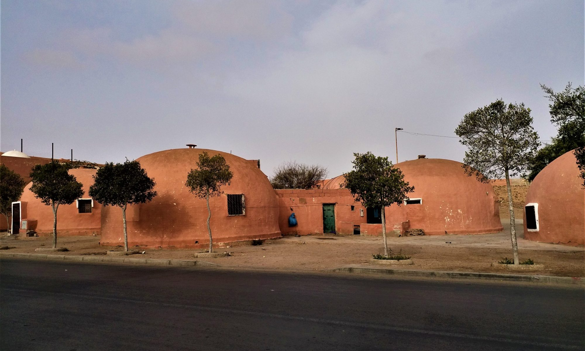 in Motion Travel Blog. Southern Morocco and Western Sahara. Domes in Laayoune