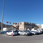 K in Motion Travel Blog. Shenanigans in Sunny Spain. Talifa Port Building