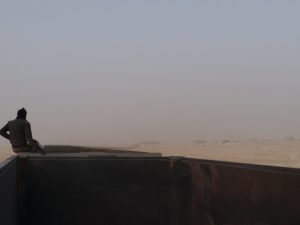 K in Motion Travel Blog. The Iron Train on the way to Choum from. Nouadhibou, Mauritania
