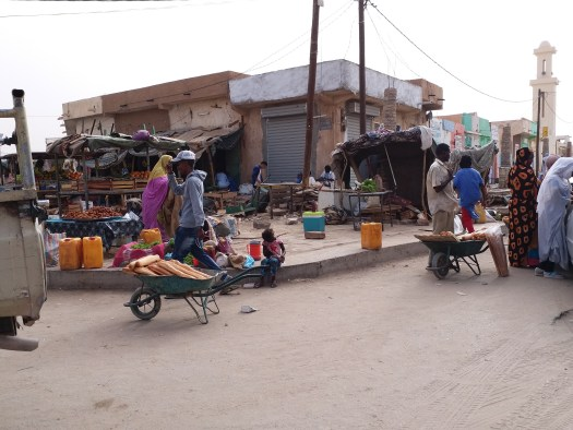 K in Motion Travel Blog. Mauritanian Adventure - Coast to Capital on the Iron Train. Atar Market, Mauritania