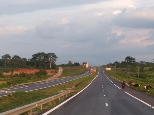 K in Motion Travel Blog. Cote d'Ivoire. Amazing Road to Abidjan