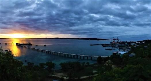 K in Motion Travel Blog. Natural Wonders of West Timor. Cafe Tebing Sunset