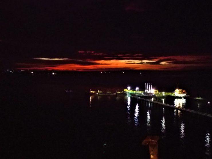 K in Motion Travel Blog. Natural Wonders of West Timor. Cafe Tebing Sunset to Night