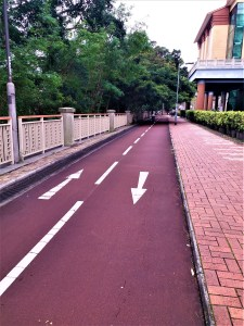 K in Motion Travel Blog. Hong Kong on a Budget. New Territories Bike Trail