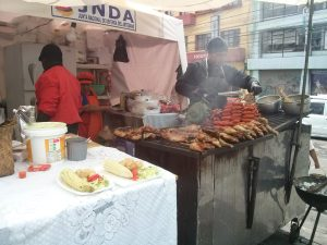 K in Motion Travel Blog. Ecuador - Journey to the Middle of the World. Open Grill in New Town, Quito, Ecuador
