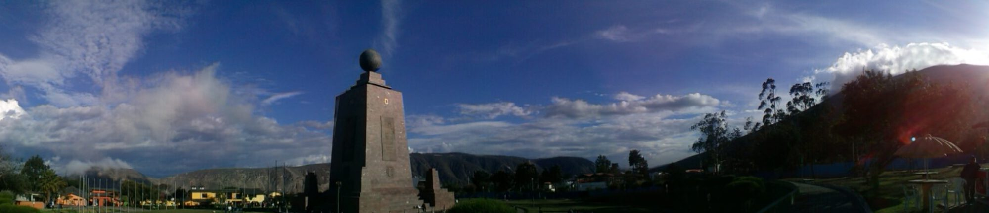 K in Motion Travel Blog. Mitad del Mundo, Quito, Ecuador