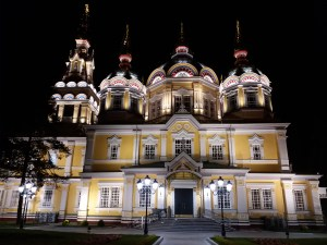 K in Motion Travel Blog. Things to Know About Kazakhstan. Cathedral in Almaty