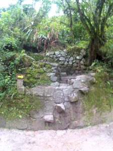 K in Motion Travel Blog. Adventures In Southern Peru. Start of the Hiking Trail From Aguas Calientes. Machu Picchu Pueblo to the Machu Picchu Ruins in the Andes,