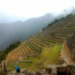 K in Motion Travel Blog. Adventures In Southern Peru. Ruins and Terraces at Machu Picchu, in the Andes, Peru
