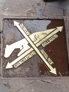 K in Motion Travel Blog. Adventures In Southern Peru. Tiger Pavement in the Andean Mountain Town of Cusco, Cuzco Peru