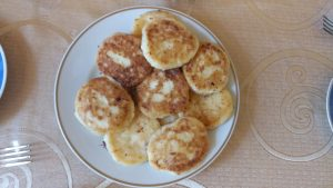 K in Motion Travel Blog. Underrated Uzbekistan. Traditional Uzbek Cottage Cheese Pancakes