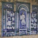 K in Motion Travel Blog. Underrated Uzbekistan. Tashkent Metro Station Decorations. Mural