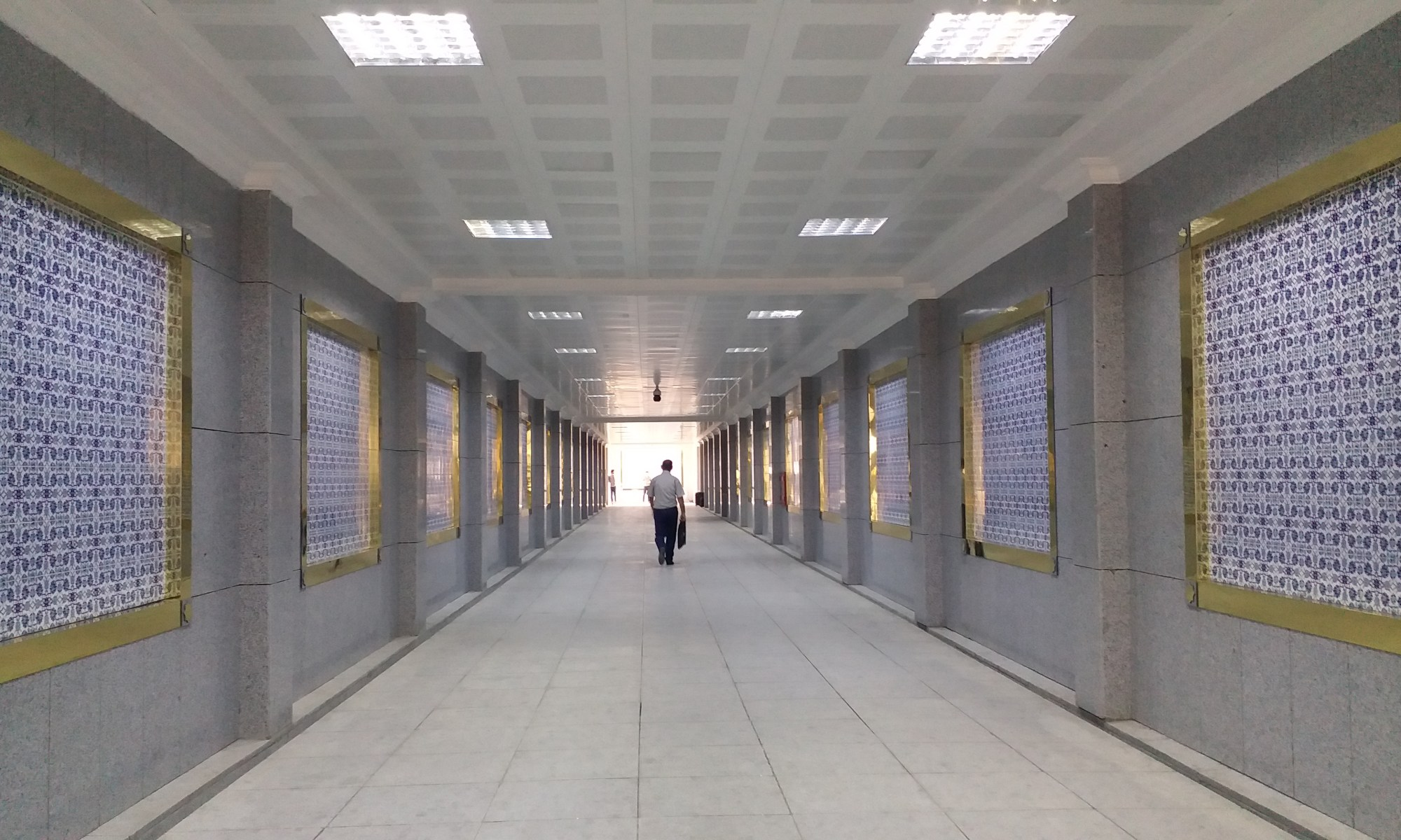 K in Motion Travel Blog. Travel to Turkmenistan - Things to Know. Ashgabat Subway