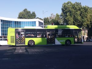 K in Motion Travel Blog. Things to Know About Uzbekistan. Inner City Bus