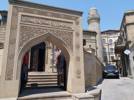 K in Motion Travel Blog. Beautiful Baku. Old Town Street
