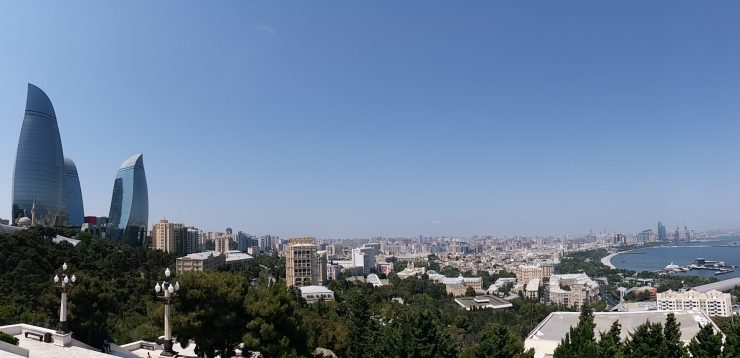 K in Motion Travel Blog. 9 Fun Things to do in Baku. View of the City From The Hill