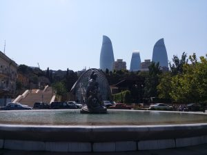 K in Motion Travel Blog. 9 Fun Things to do in Baku. Stairs to the Hill