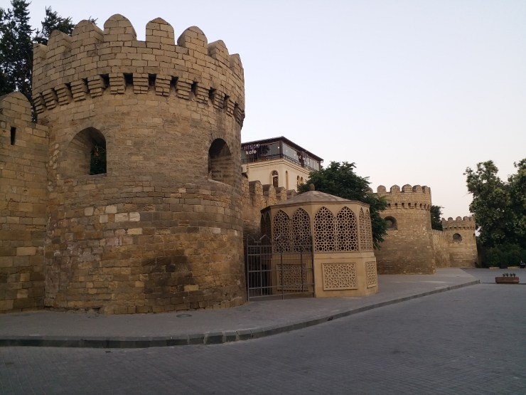 K in Motion Travel Blog. Beautiful Baku. Old Town.