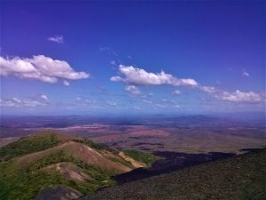 K in Motion Travel Blog. Love and Volcanoes in Nicaragua. Leon - Scenery Surrounding Cerro Negro