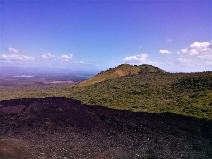 K in Motion Travel Blog. Love and Volcanoes in Nicaragua. Leon - Scenery Around Cerro Negro