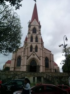 K in Motion Travel Blog. Mountain Adventures in Costa Rica. San Jose Church